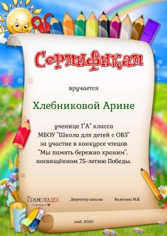 Сертификат_Хлебникова А